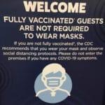hard rock mask sign