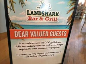 landshark bar sign
