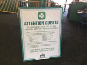 tanda keselamatan taman monmouth