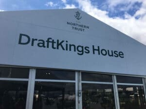 draftkings golf tent